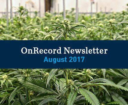 August 2017 OnRecord Newsletter