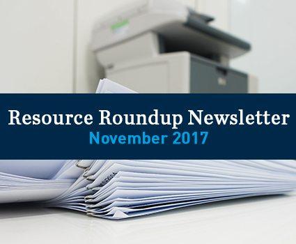 November 2017: Popular resources on document imaging, metadata and RIM ROI